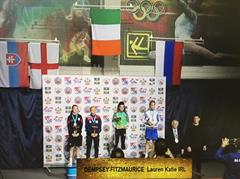 5th year student Lauren Dempsey Fitzmaurice wins GOLD