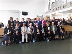 Ceremony for the Presentation Sisters.