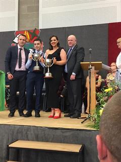 The Spirit of Kildare Town Community School Award.