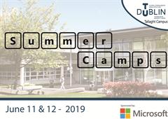 TU Dublin Summer Camp - Tallaght Campus