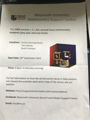 Maynooth Uni Maths Support Centre