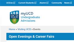 UCD Open Days / Evenings