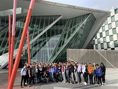 Transition years Trip to the Gaiety school of acting and the Bord Gais