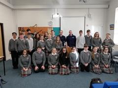 Community Garda Gavin Dunphy Visits KTCS