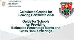 Leaving Certificate 2020 Students & LCA Students