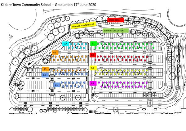 Map for LC 2020 Graduation