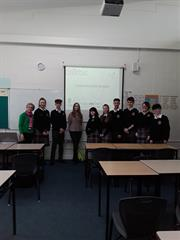 Science Presentation to 5th Years and TYs
